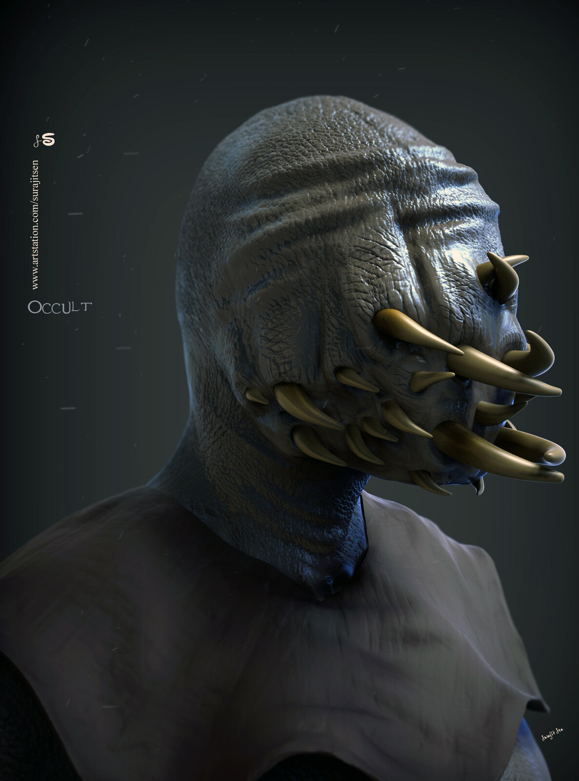Occult One of my thoughts.. Digital Sculpture. My free time speed Digital Sculpture... Wish to share.