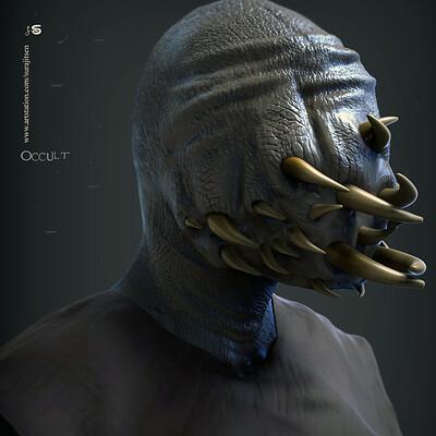 Surajit sen occult digital sculpture surajitsen nov2019