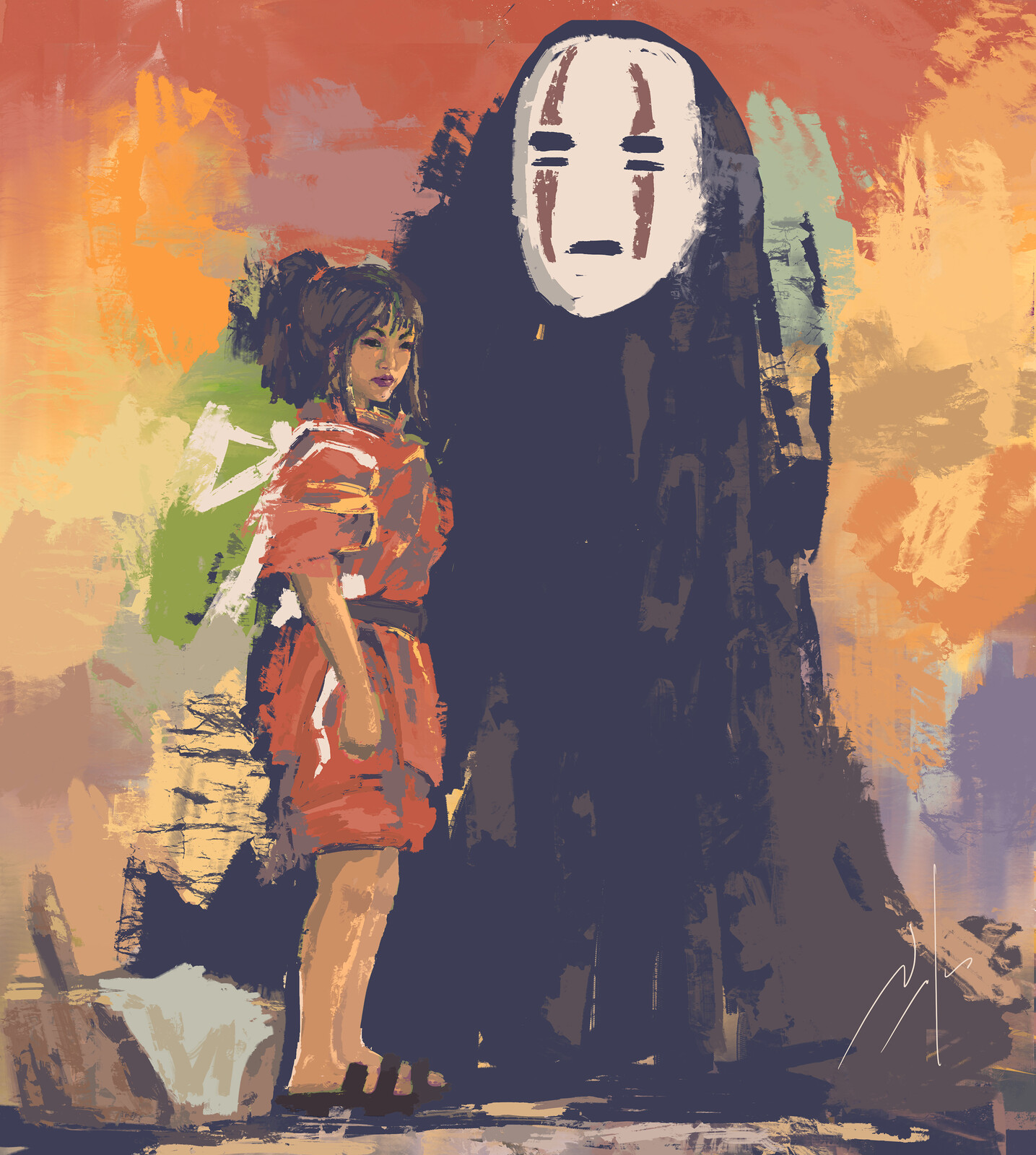 Spirited Away - FanArt