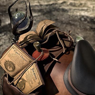 Ginger chevalier saddlebag witch 2 1024