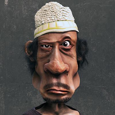 Reza sarkamari muammar gaddafi ver03