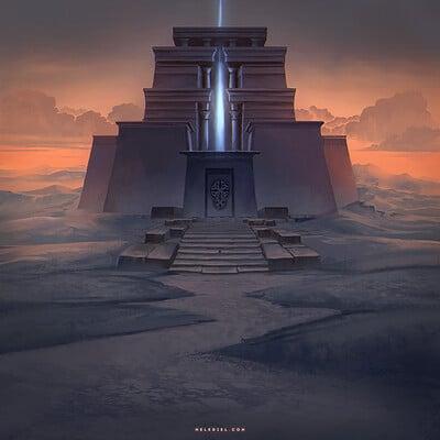 Nele diel temple of the gods