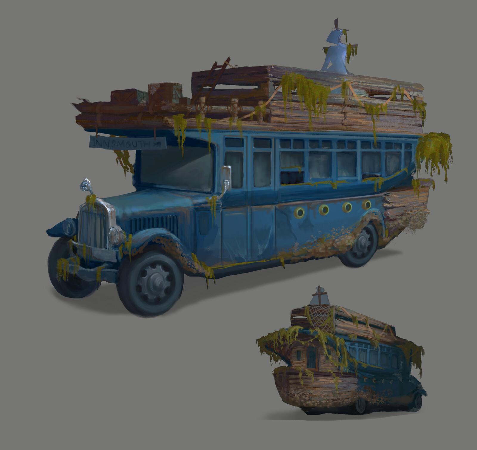 Innsmouth Bus