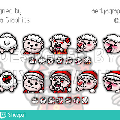 Aerlya graphics sample emotesregchristmas