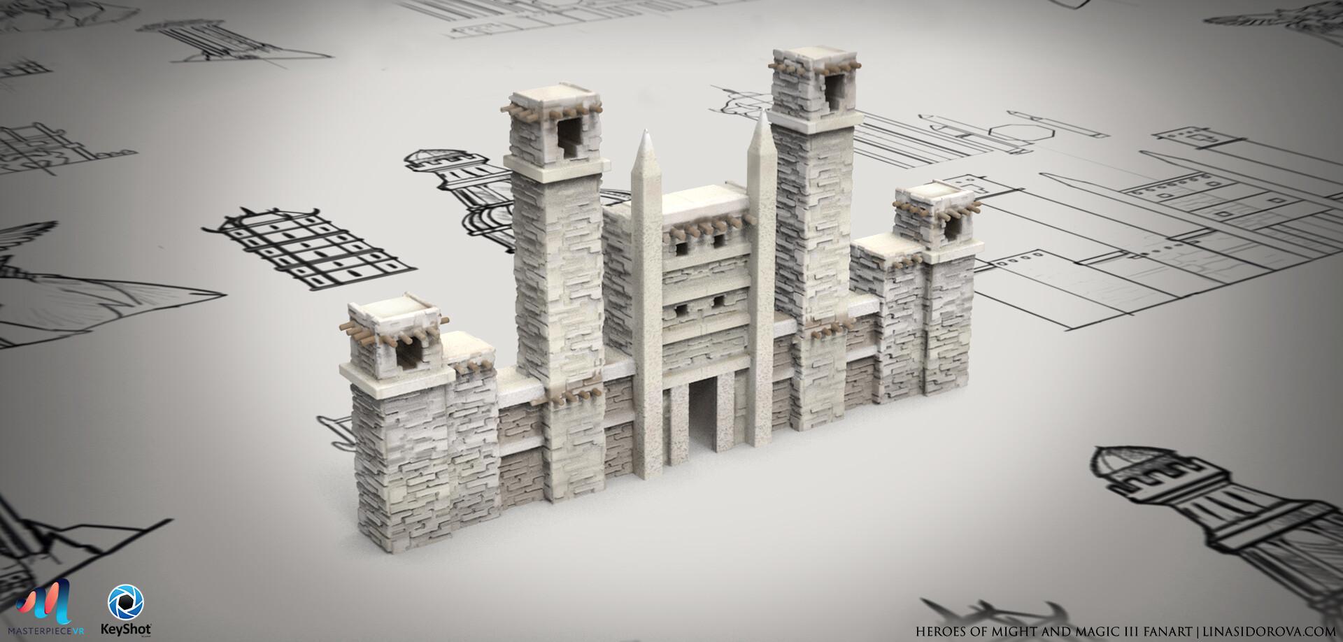 Lina sidorova castle