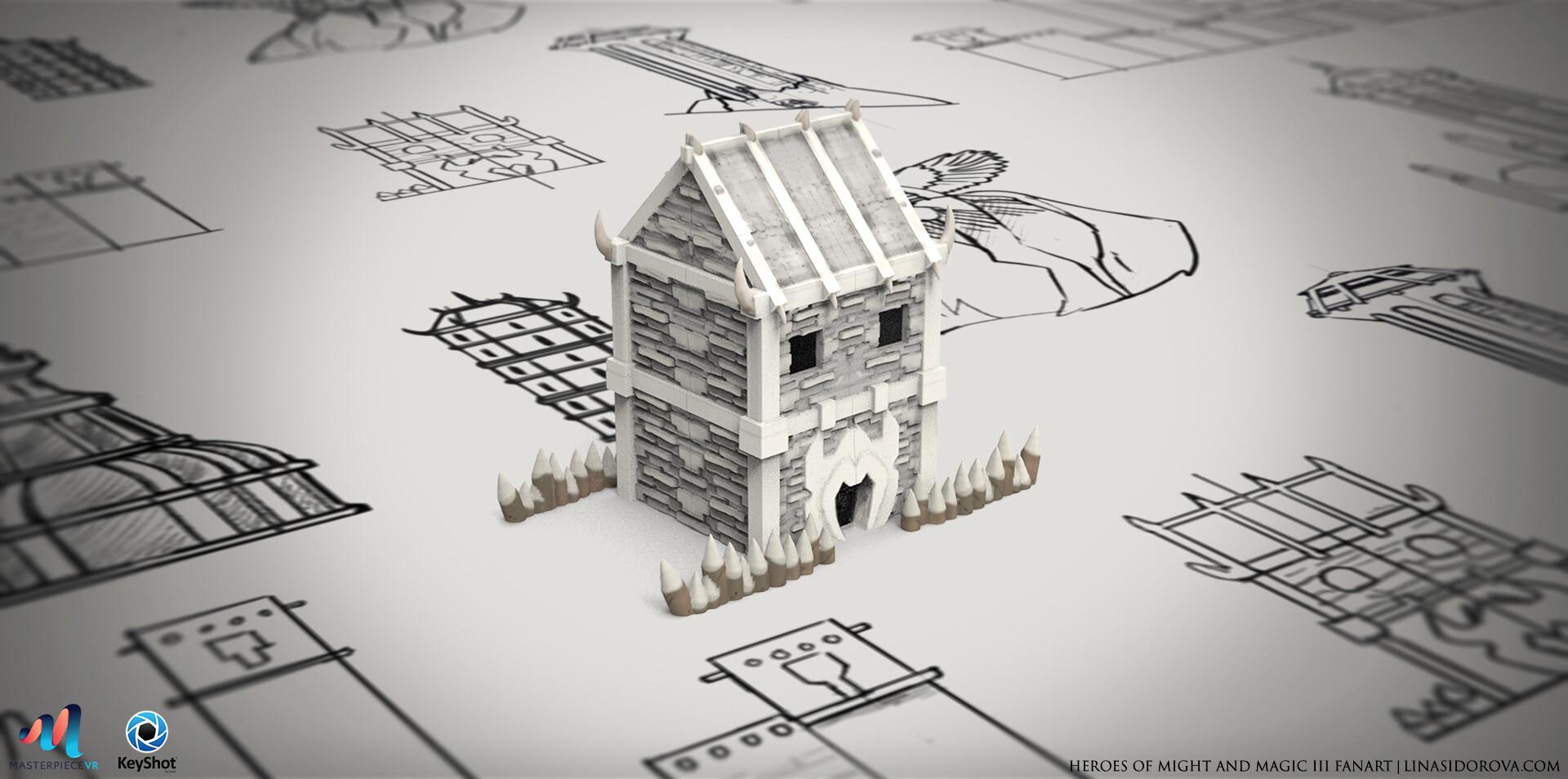 Lina sidorova house