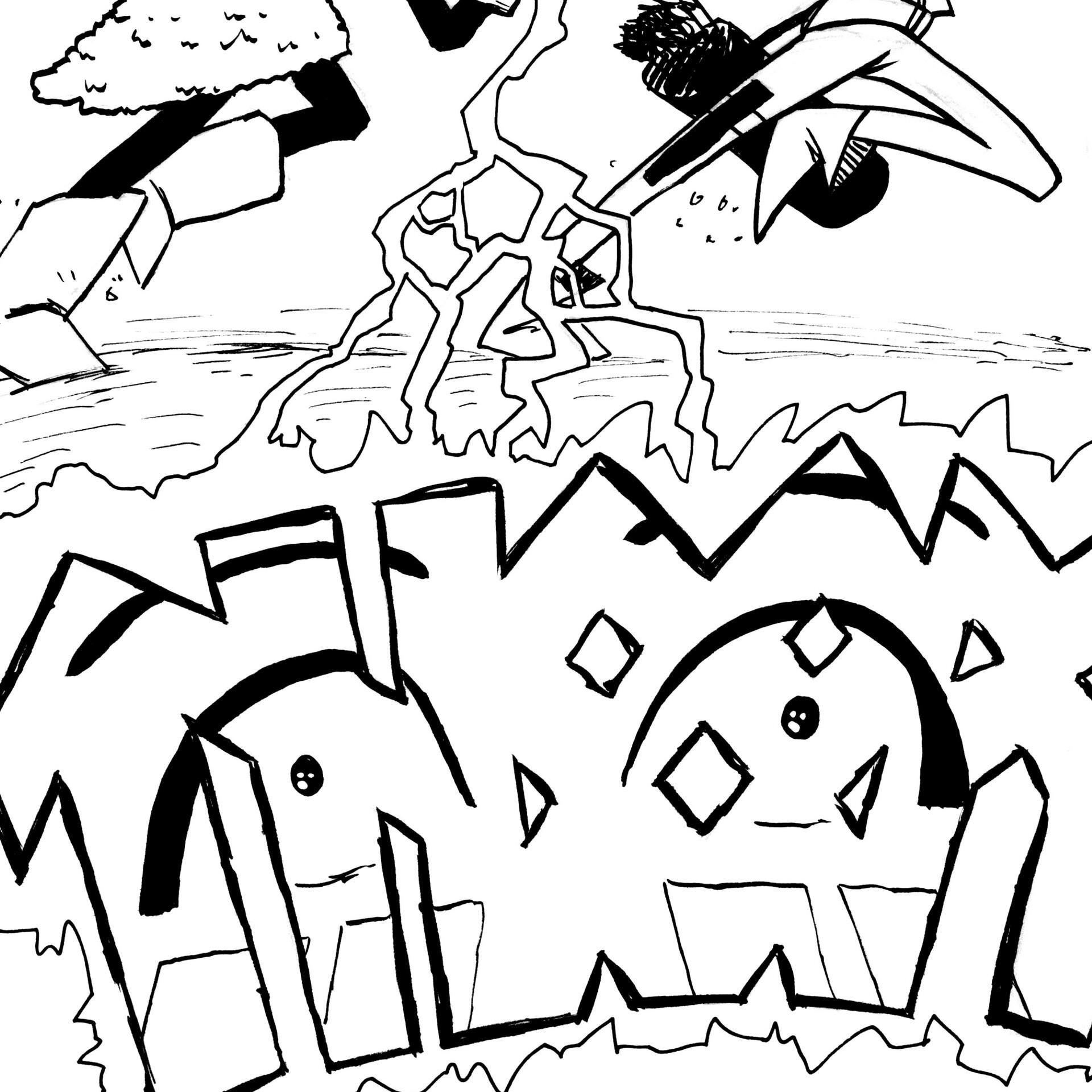 Randy haldeman rune inktober page 16