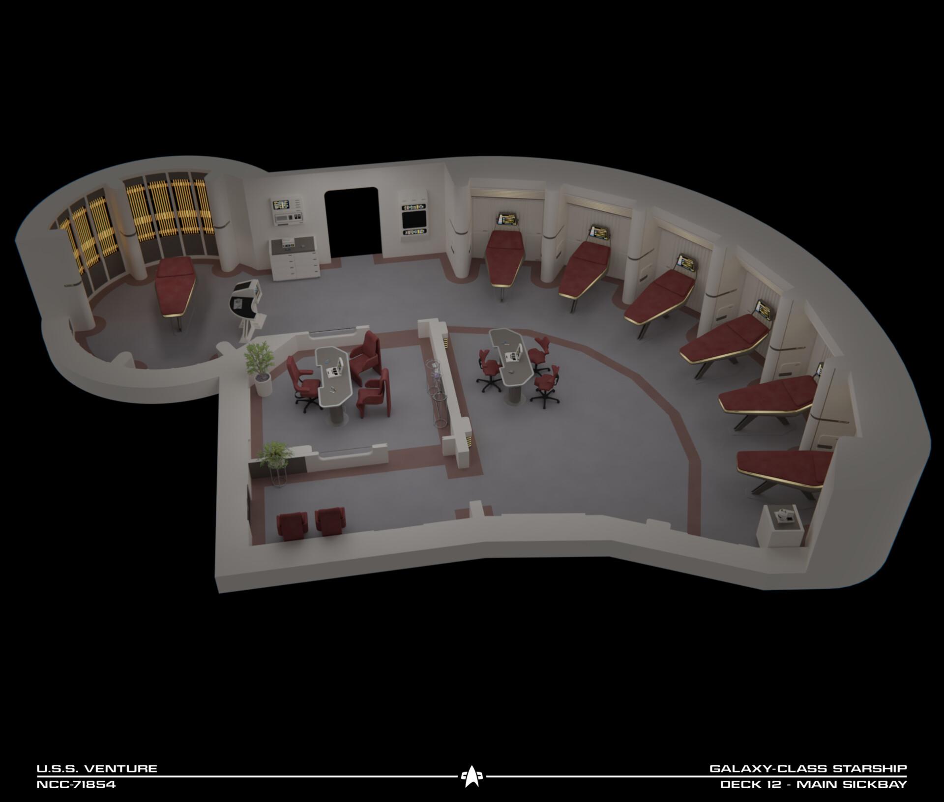 Tadeo d oria uss venture sickbay cutaway