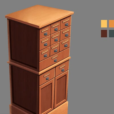 Edwardian Era File Cabinet Ver.3