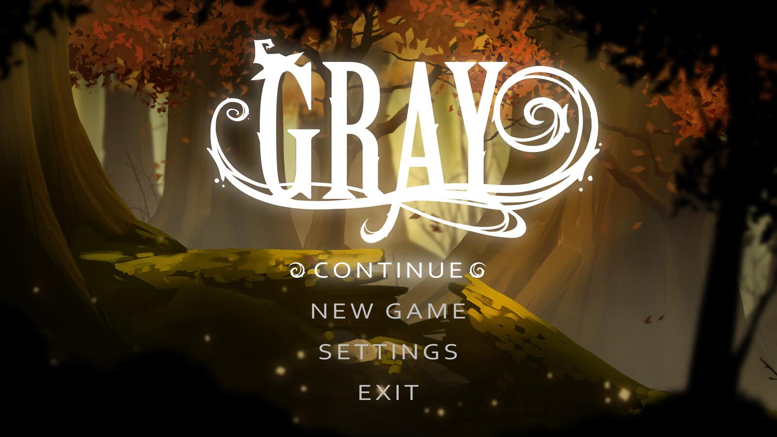 Gray - Unity game