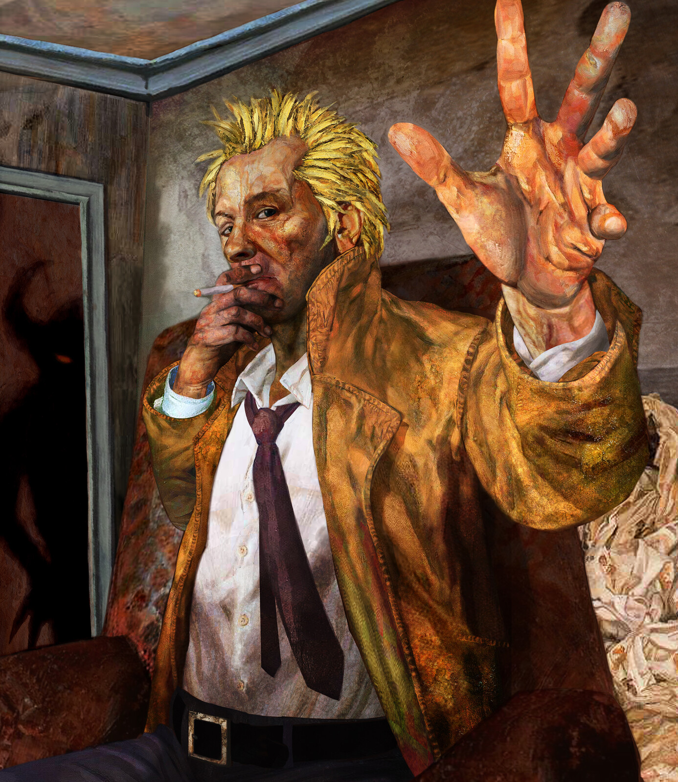 John Constantine collage