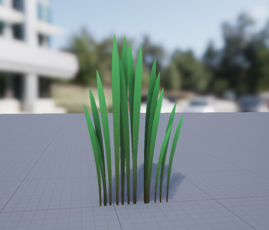 Grass in unreal engine