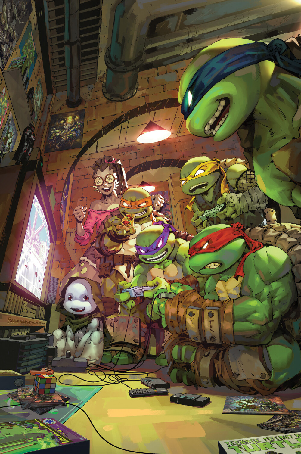 Teenage Mutant Ninja Turtle #102