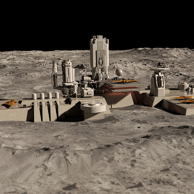 Mark zhang outpost on the moon