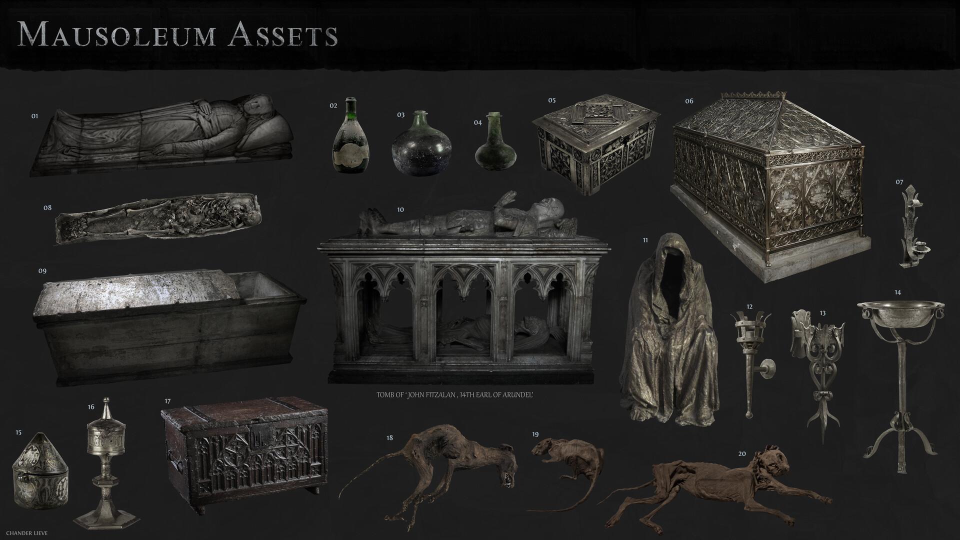 Chander lieve mausoleum assets