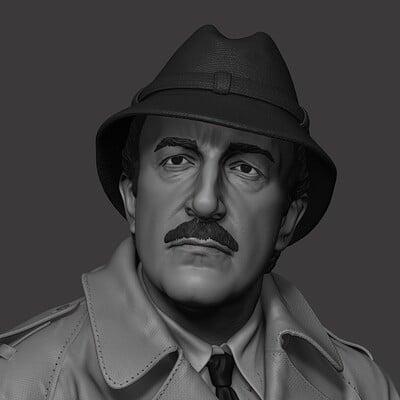 Inspector Clouseau 1:6 statue