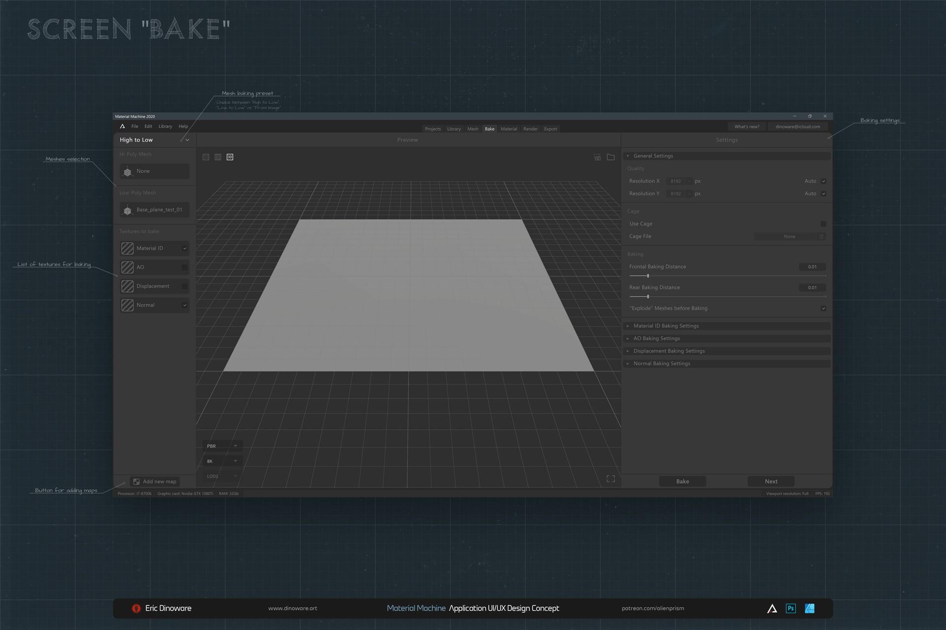 Screen: Bake