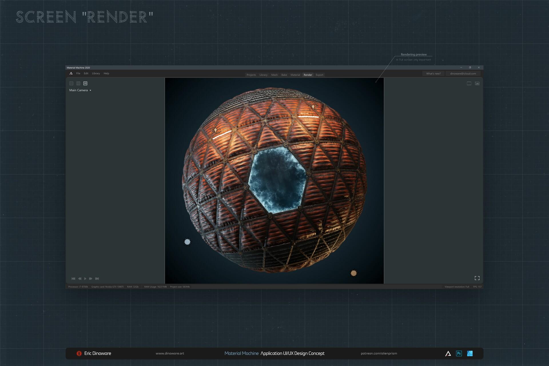Screen: Render