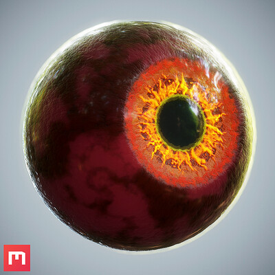 [Quixel Mixer] Demonic Eye Material Mix