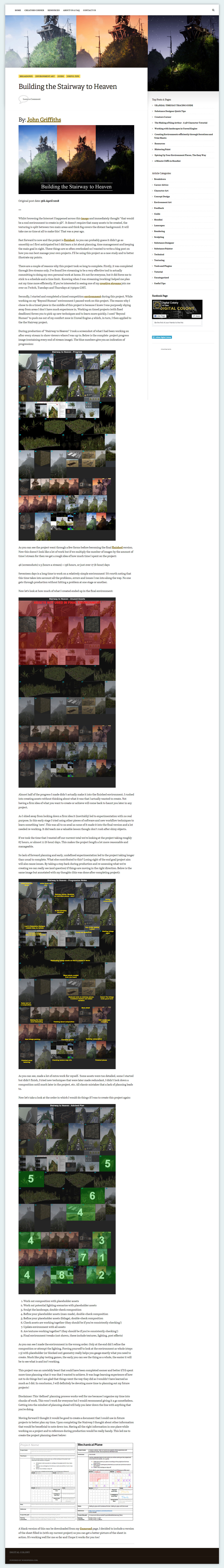 John griffiths article stairwaytoheaven