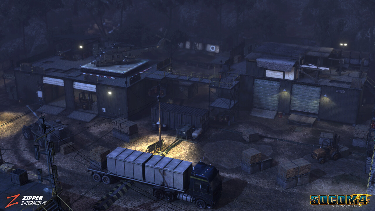 Outpost, PVP.  Responsible for modeling and world building of the warehouse outposts.