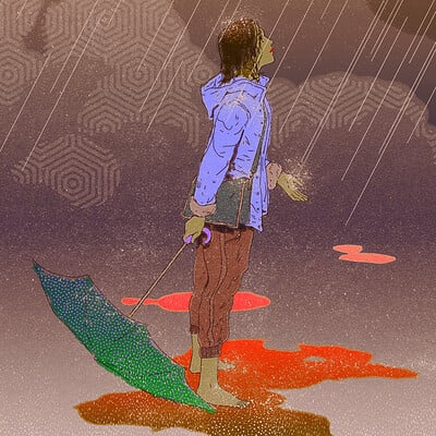Korina hunjak rainfall