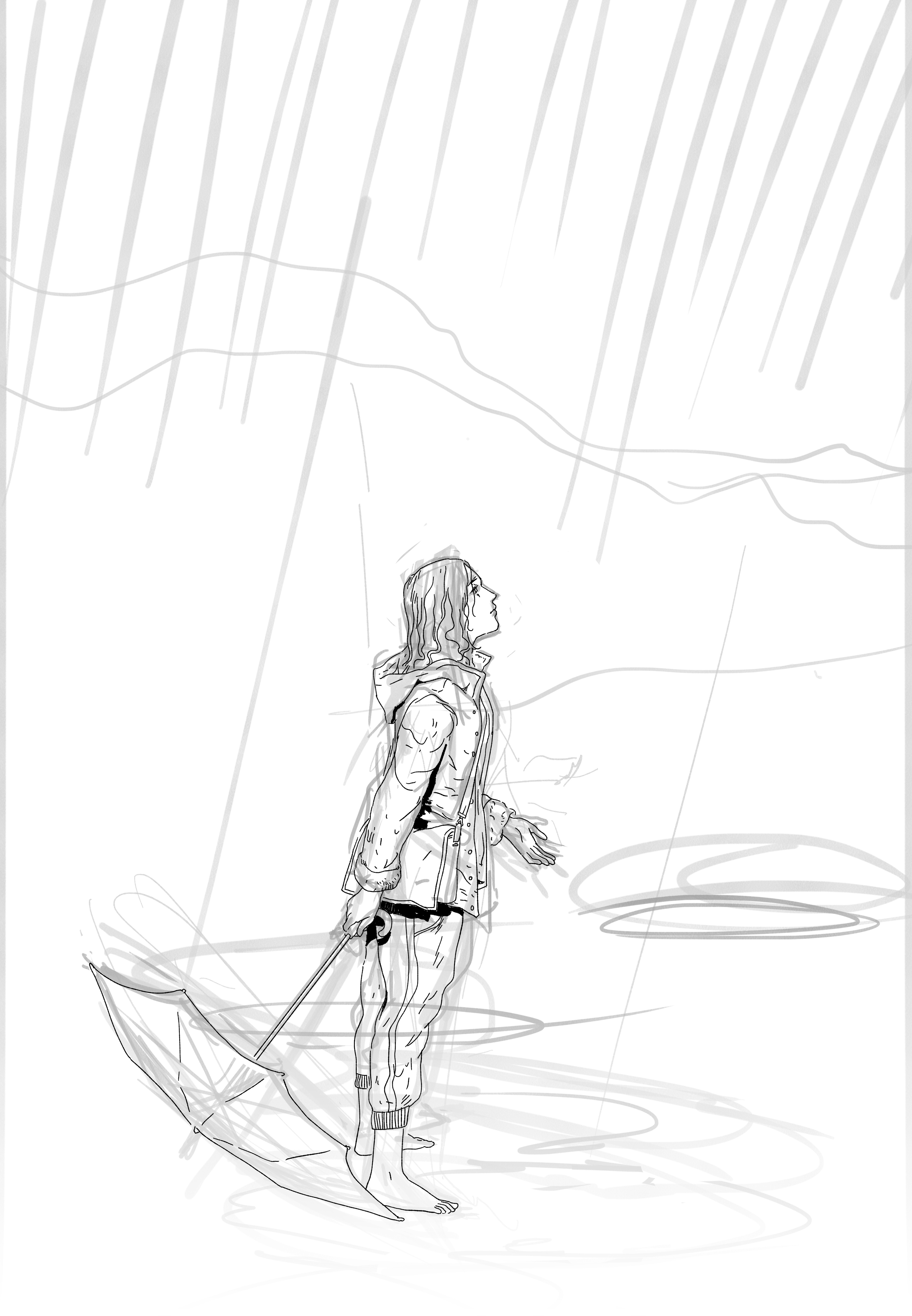 Sketch with lineart