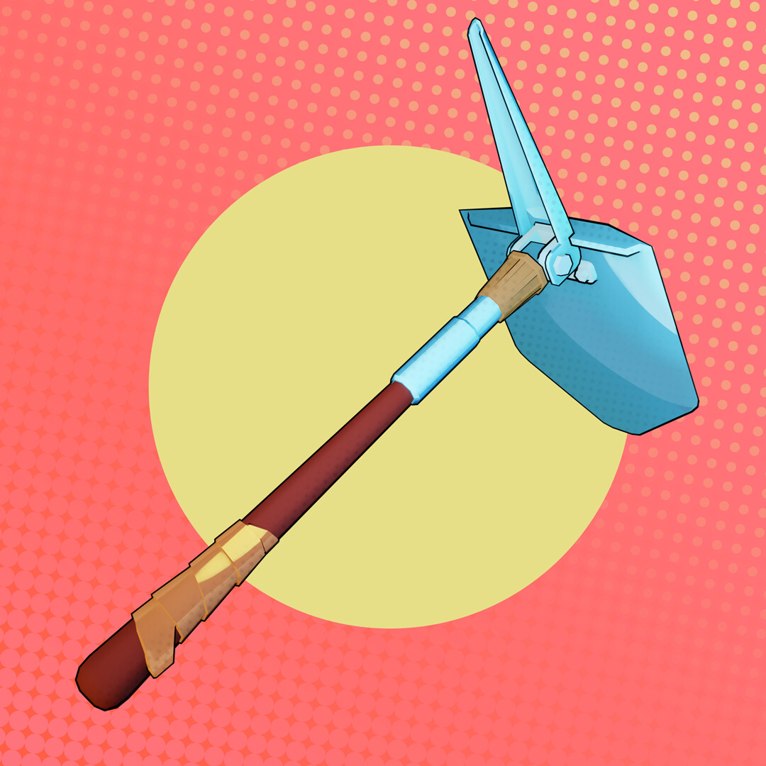 Tidal flask studios wip shovel 02