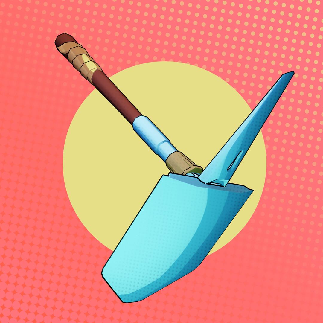 Tidal flask studios wip shovel 03