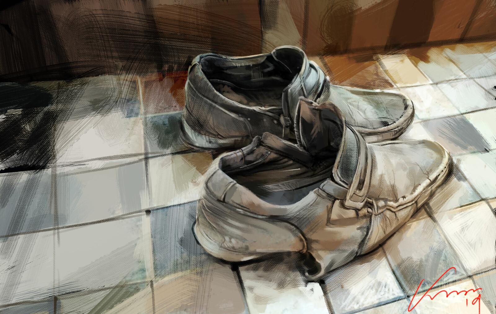 construction labor boot