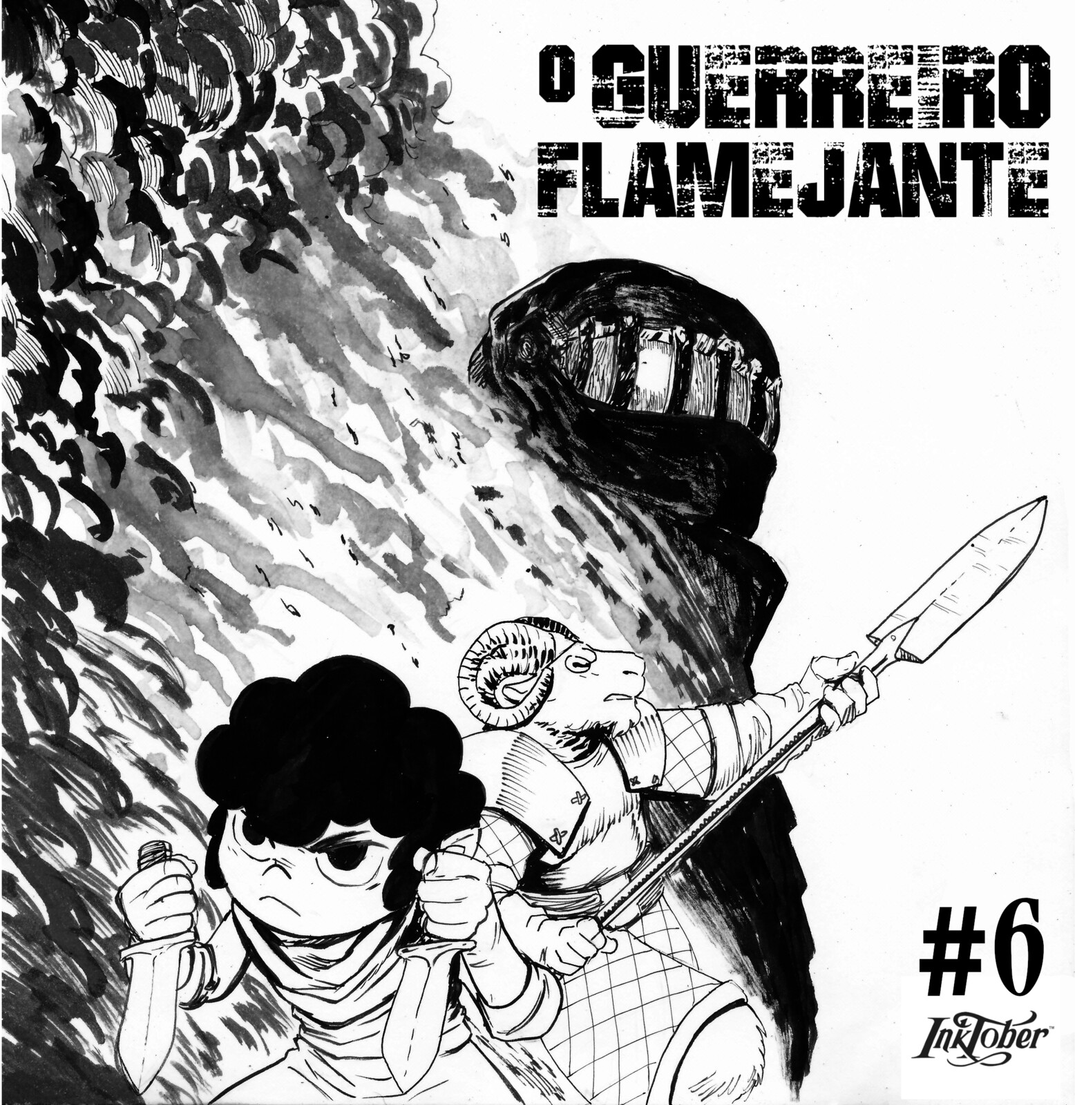 06- The Flamming Warrior