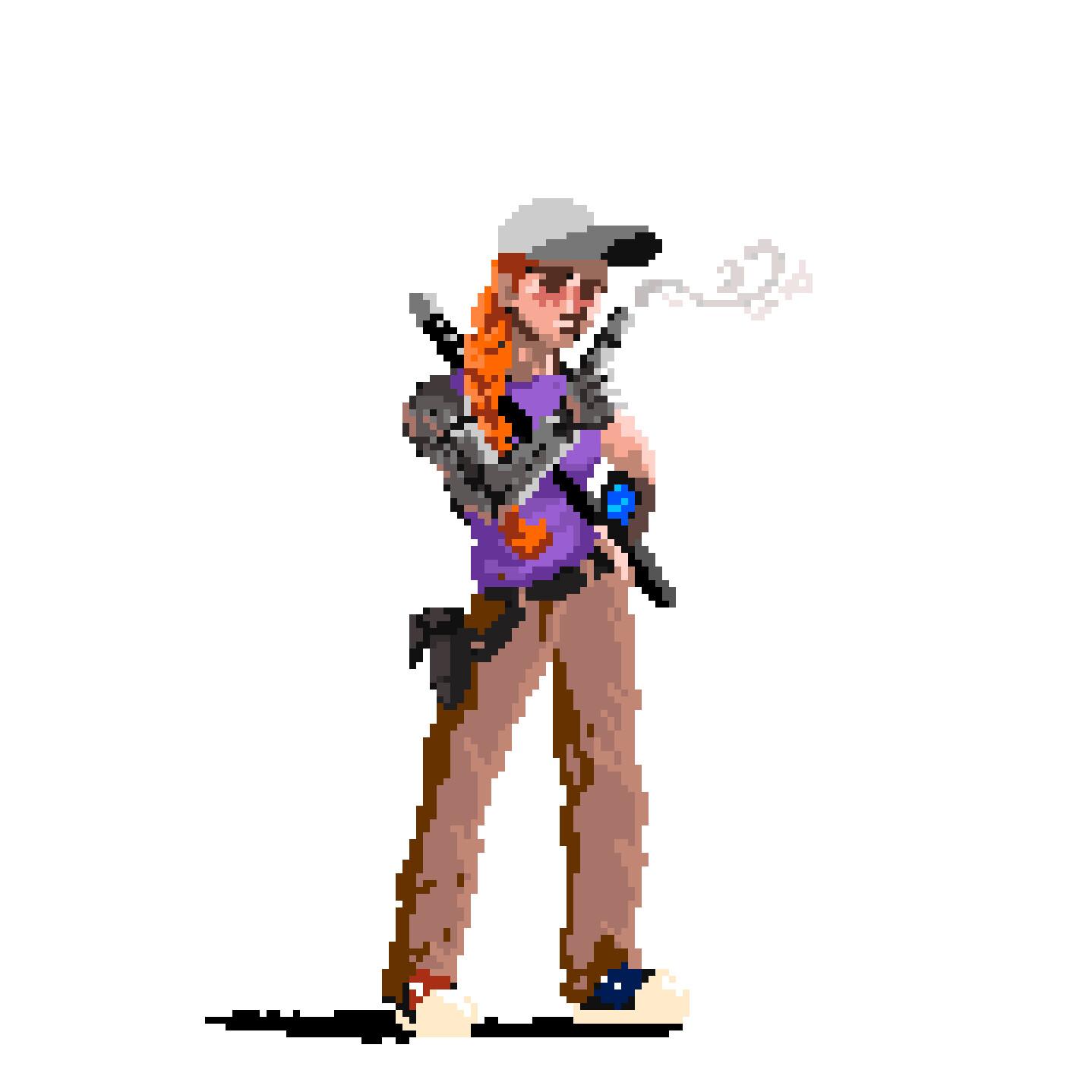Pixel art videogame project
