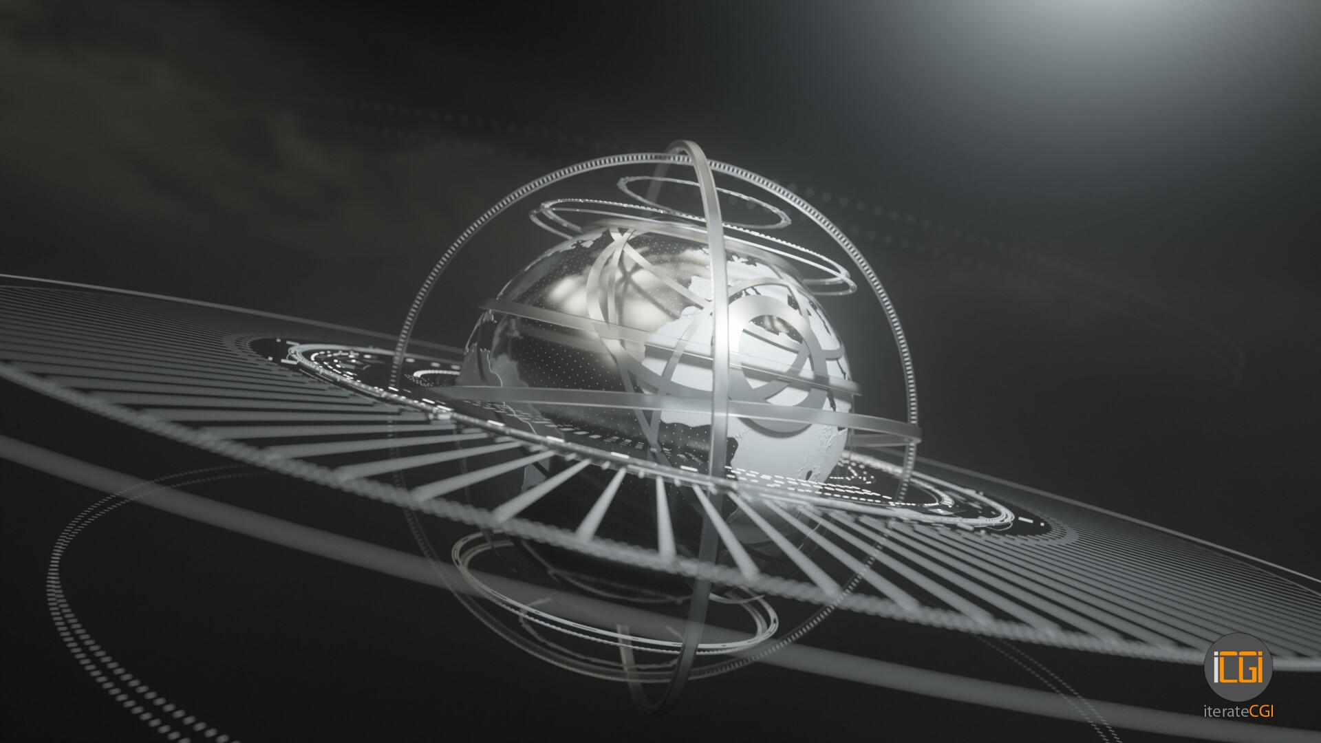 Johan de leenheer globe motion graphic 12