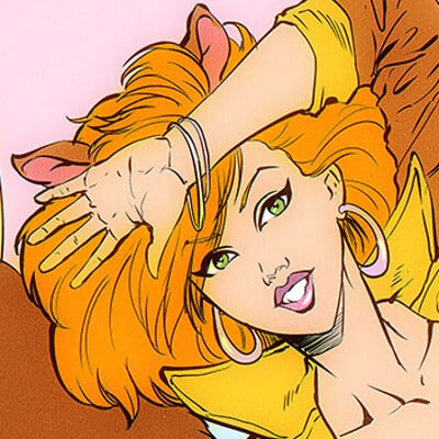 Pablo romero squirrel girl l