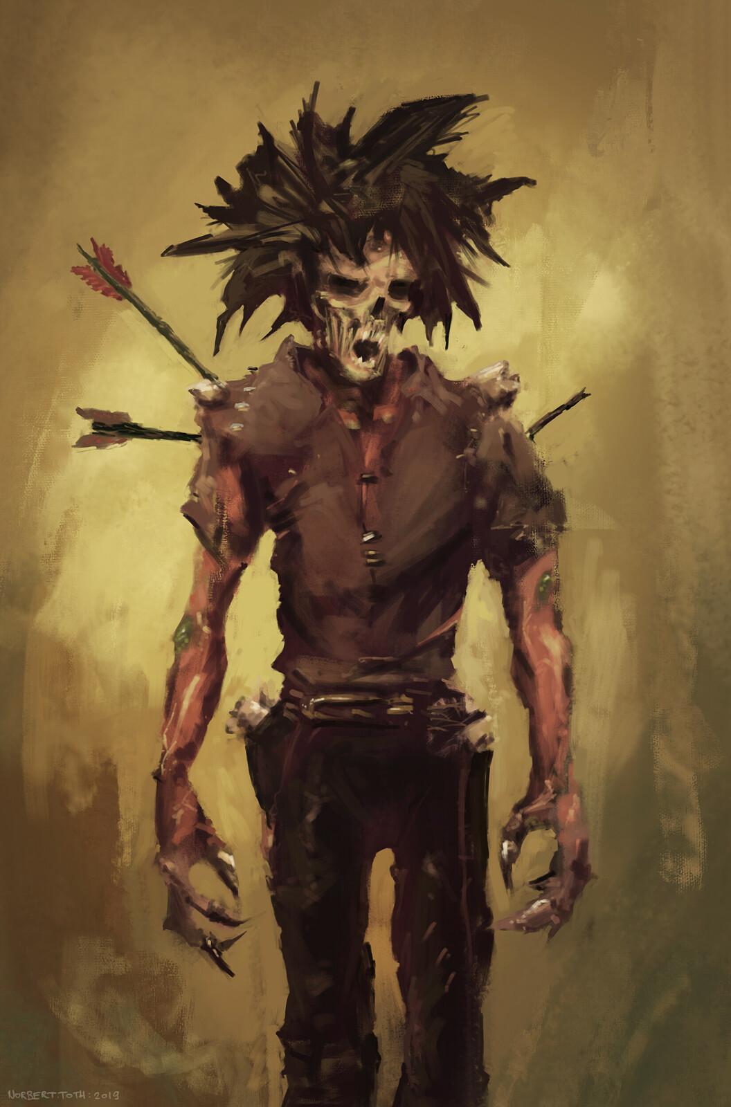 Plaguelands ghoul