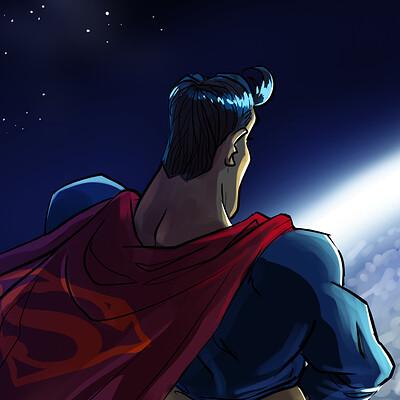 Josep giro torrens superman pixa