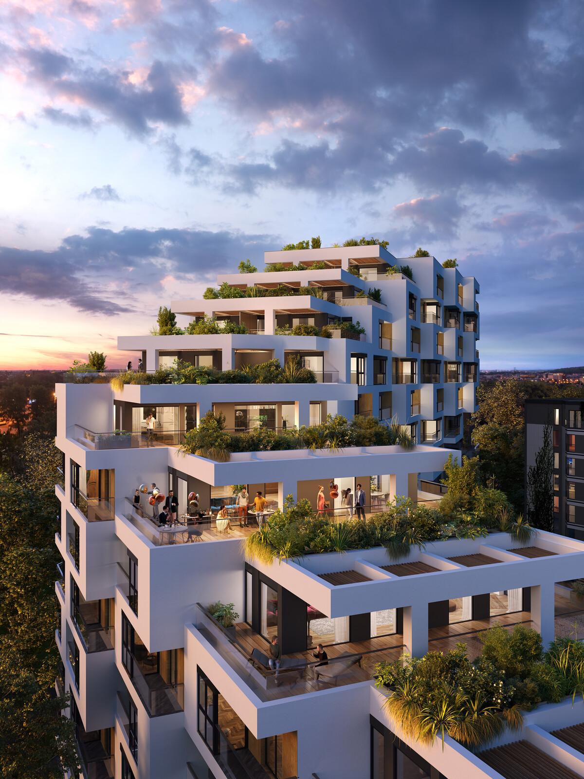 Hines - Apartamenty Novum