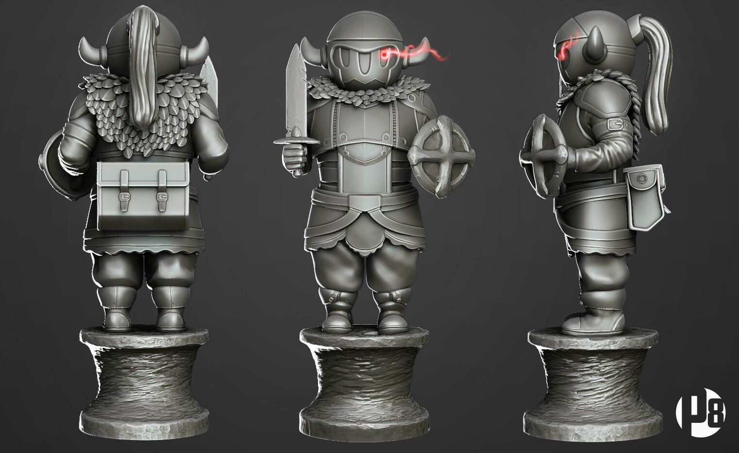sculpt : version for 3D printing