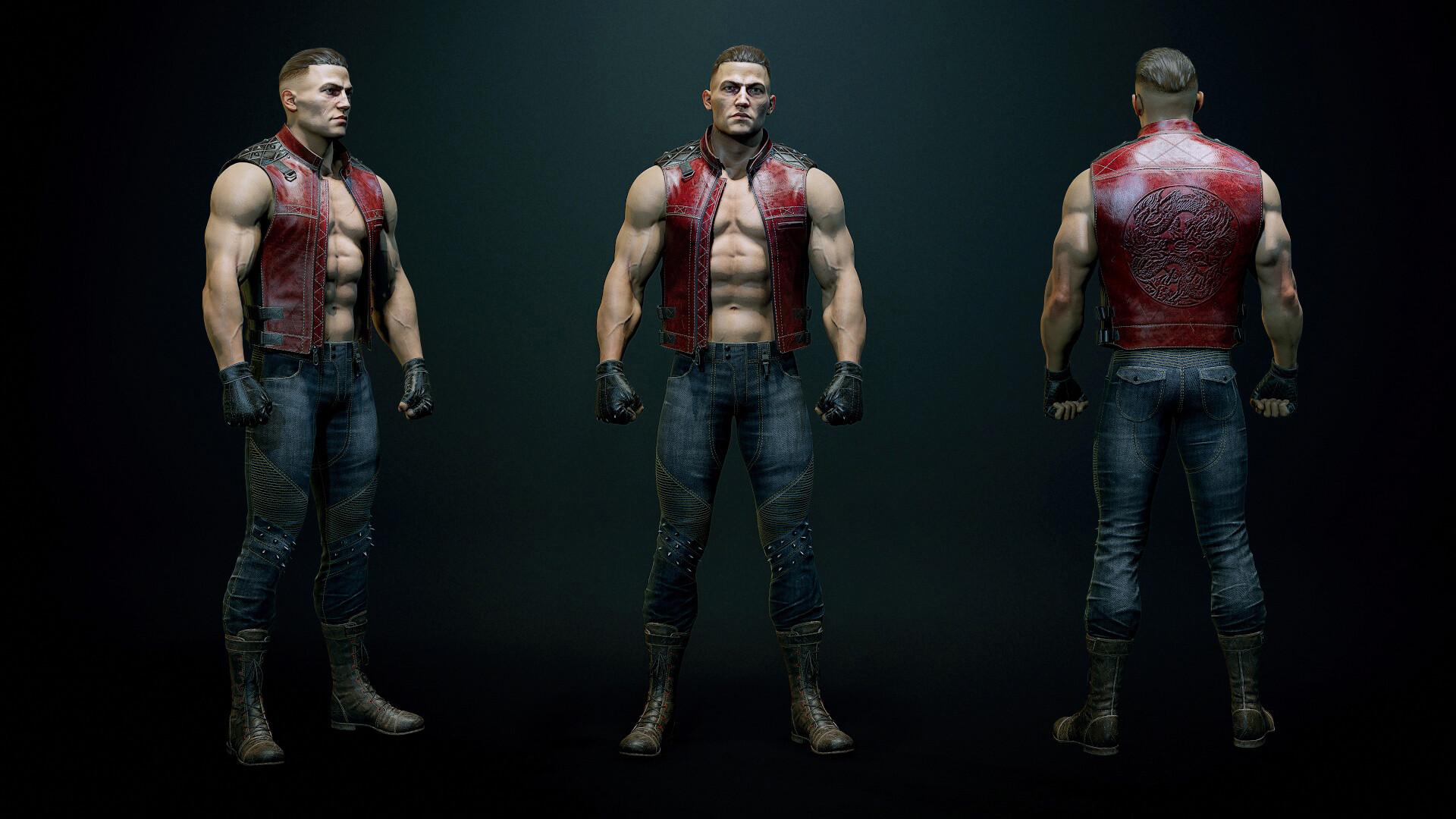 Alex Lashko 3d Art Battletoads Double Dragon