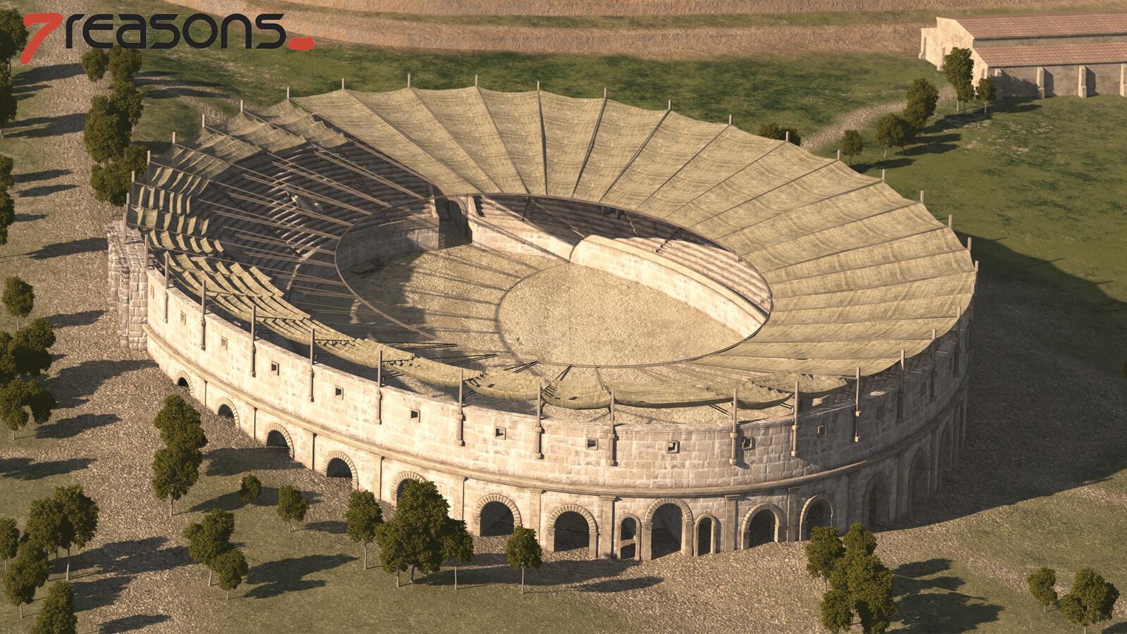 Military Amphitheatre - Detail.