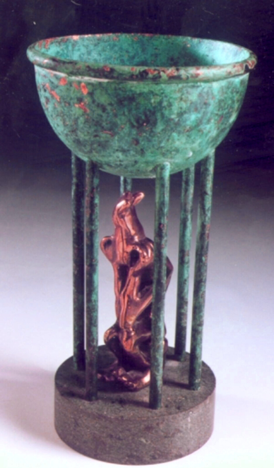 Bronze sculpture - acually made by hand!
