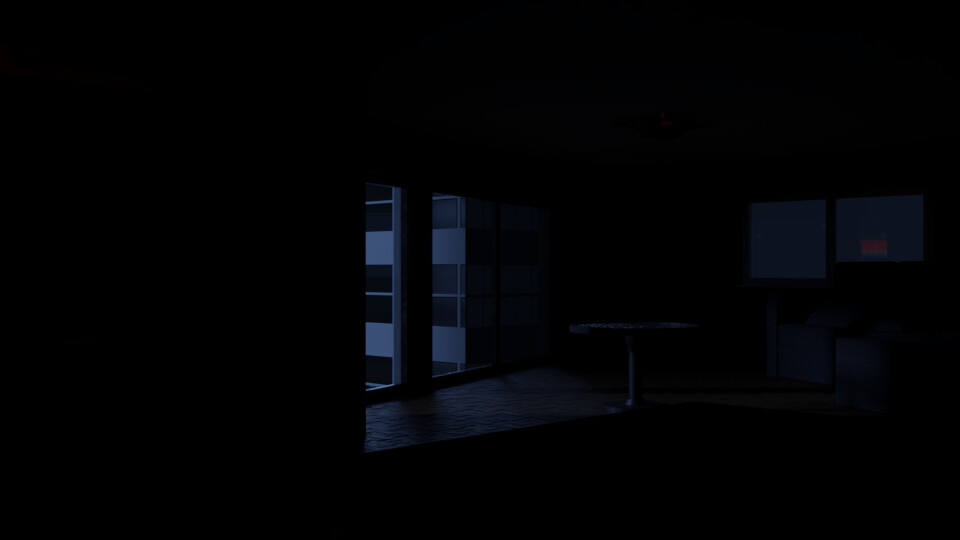 Bedroom - Lights off