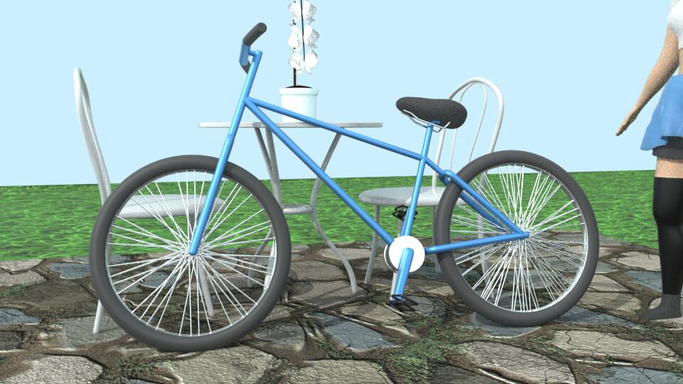 Bike closeup