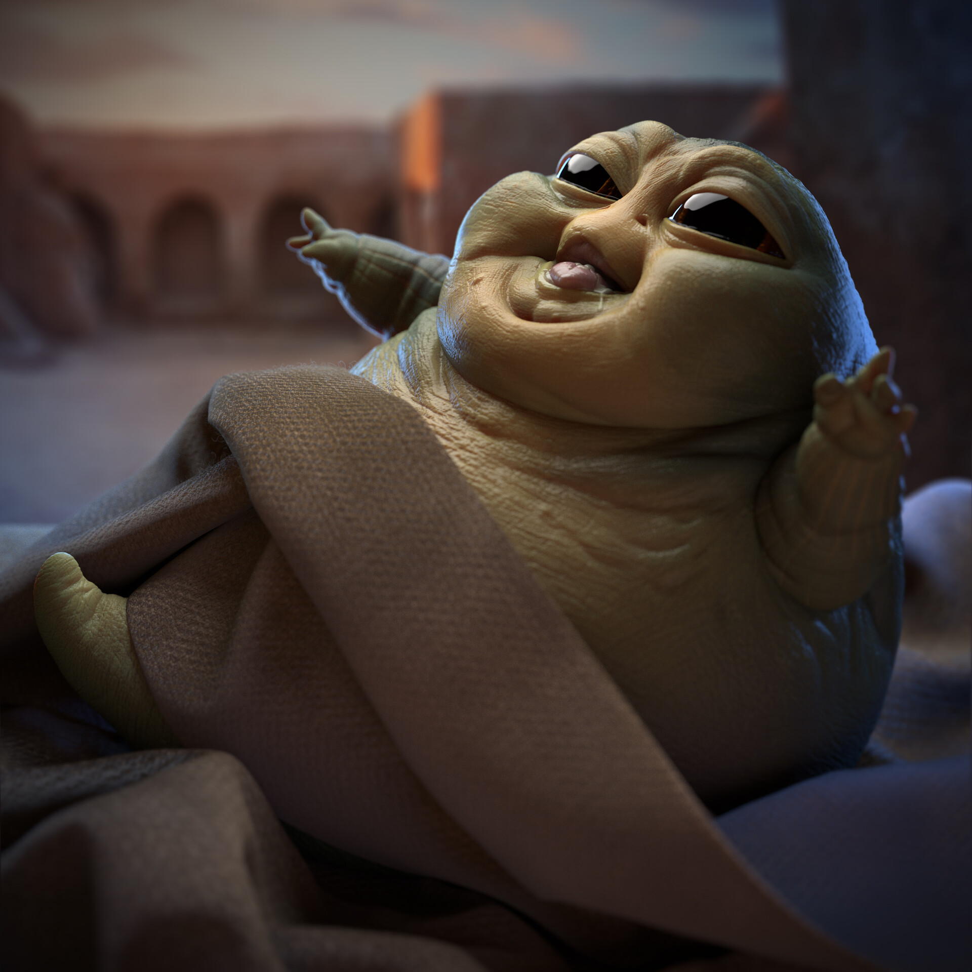 Leonardo viti leoviti babyjabba