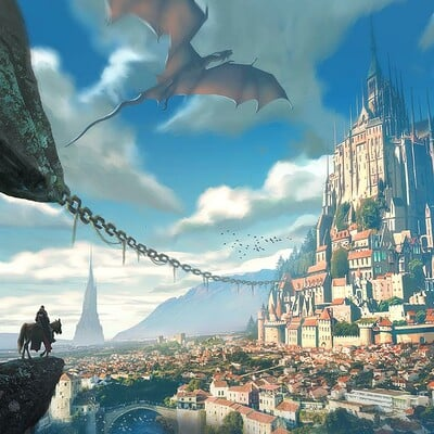 Panjoool excalibur castle by panjoool ddl72gl fullview