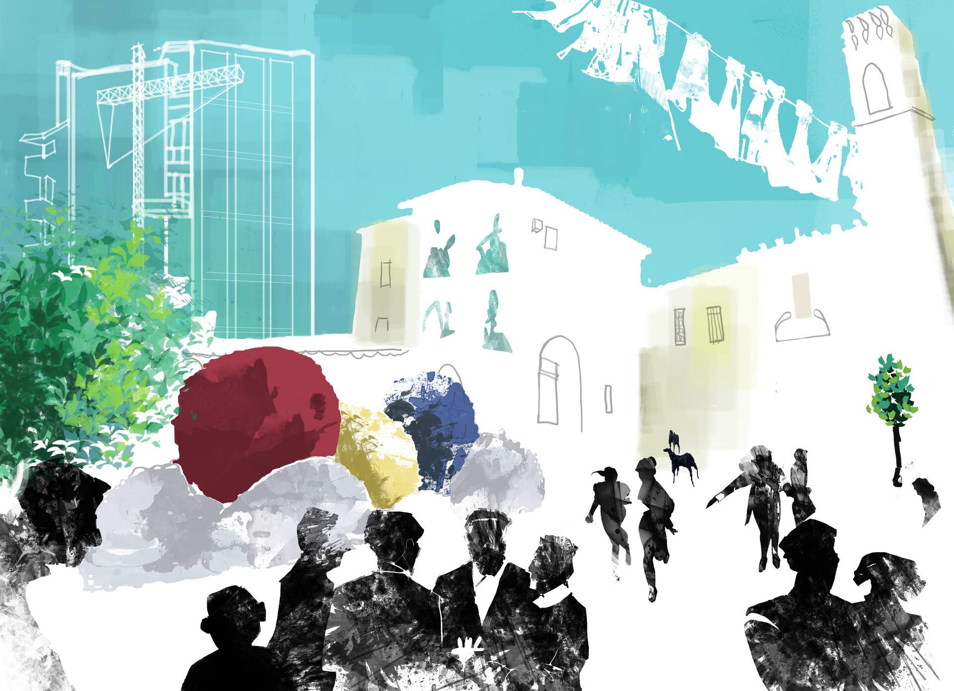 San Sperate Illustration