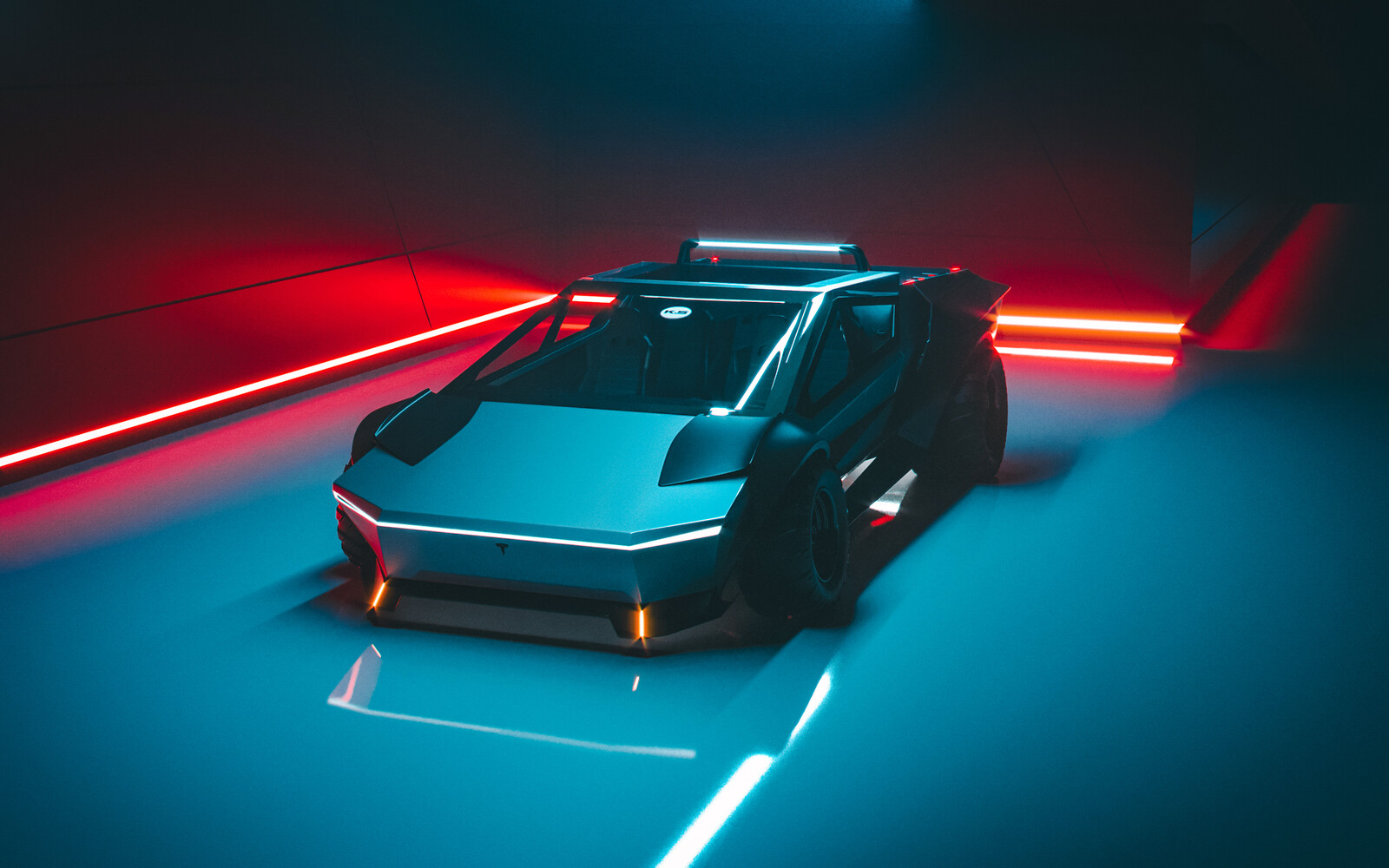 Tesla Cybertruck Re-Design