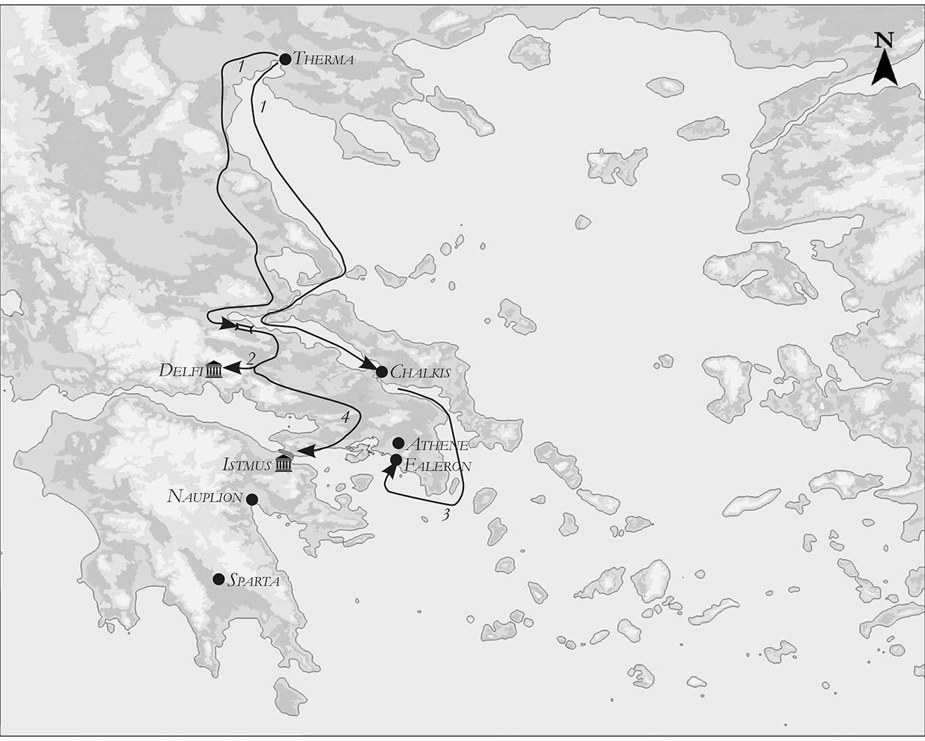 Mieke roth xerxes in griekenland kaarten klaar 8