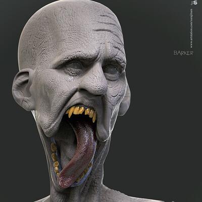 Surajit sen barker digital sculpture surajitsen nov2019