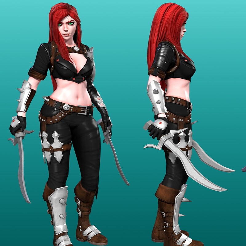 Laia - Stylized Female Character Design  - Warrior